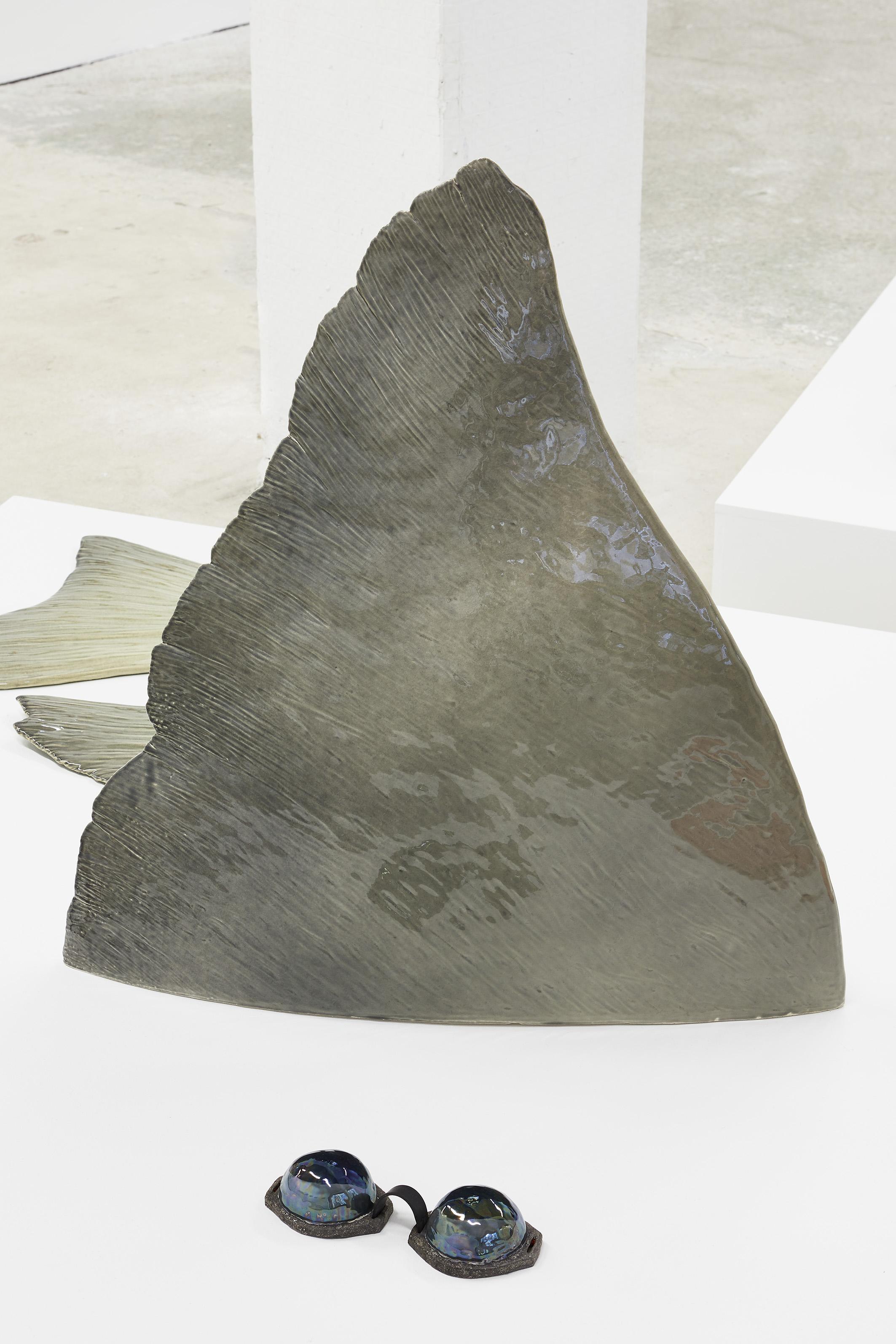 ELSA GUILLAUME,TRIPLE KIT N°23, 2019, 61 x 66 x 14 cm, Céramique émaillée