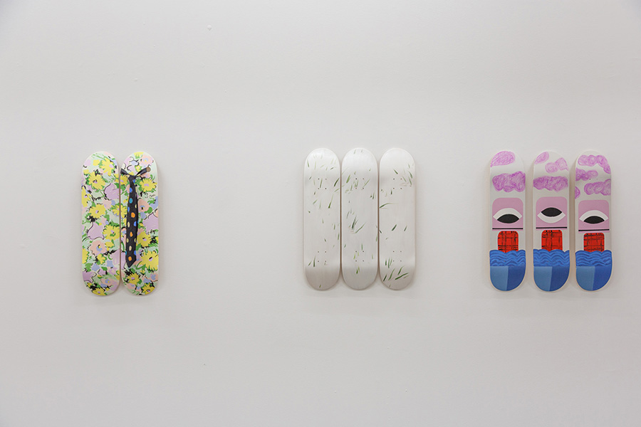 'Bruxsel Project' by The Skateroom, exhibition view, 2019
