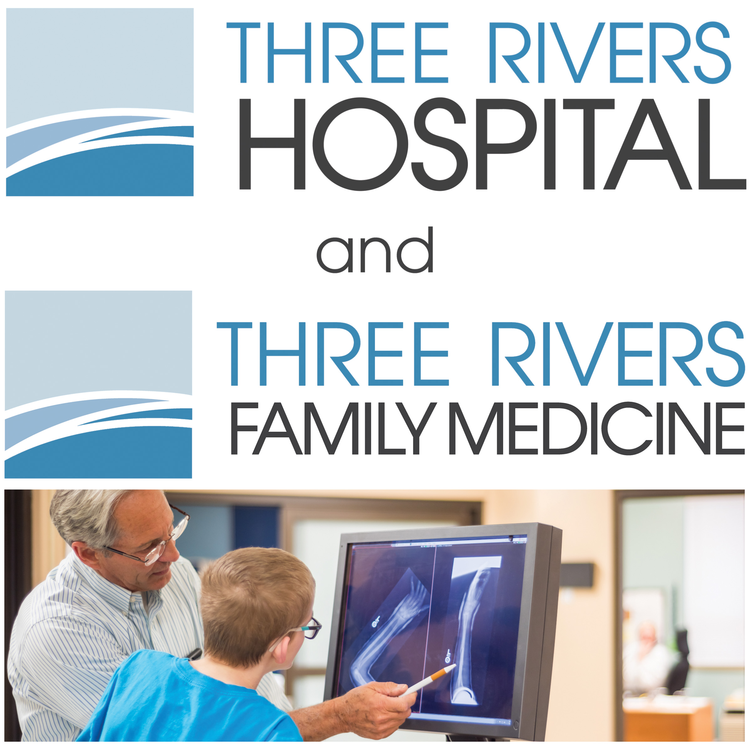 three rivers hospital - 507 Hospital Way, Brewster, WA 98812www.threerivershospital.netwww.brewsterclinic.orgFacebook509-689-2517Full service critical access hospital with Primary Care and Surgical Specialty Clinic.