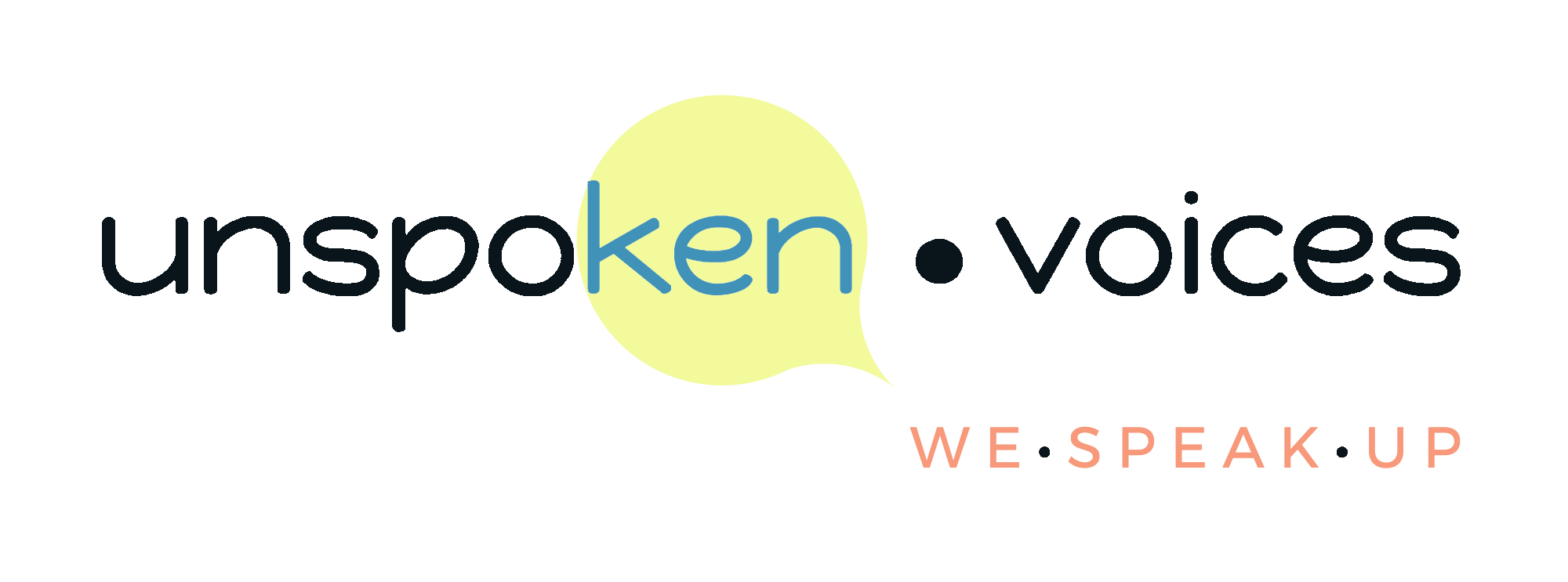 Unspoken Voices™ Alt Dark Logo (Trademarked Logo)