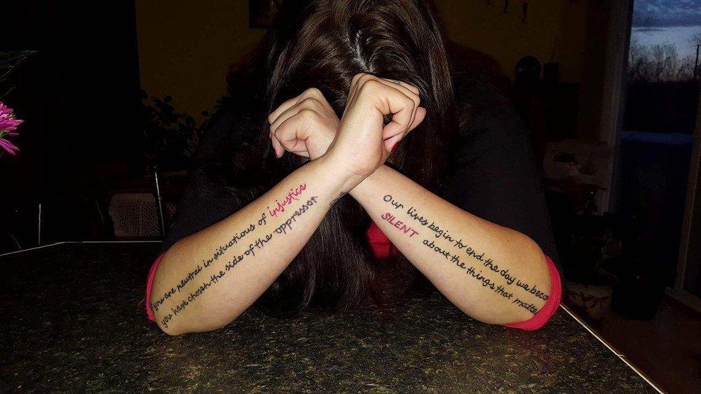 KiloMarie Granda Tattoos from  Transformation is Real  article.