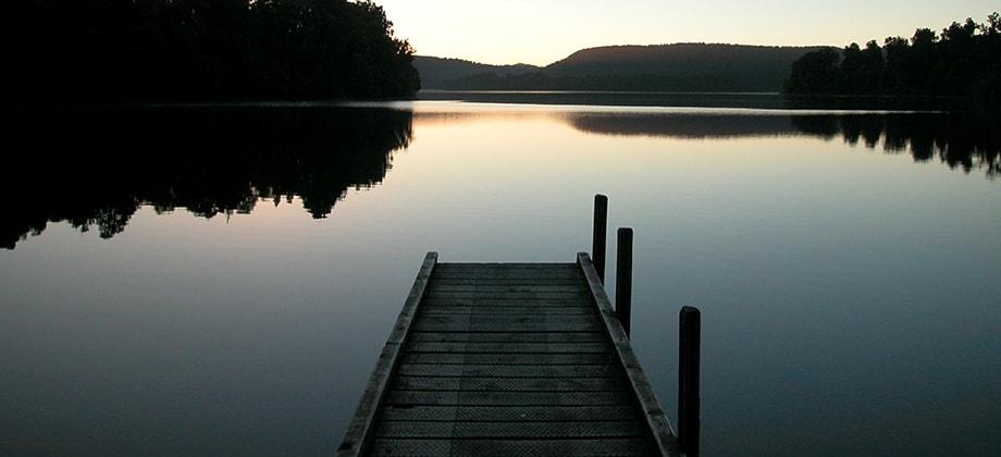 Lake and Dock Photo (courtesy KiloMarie Granda)