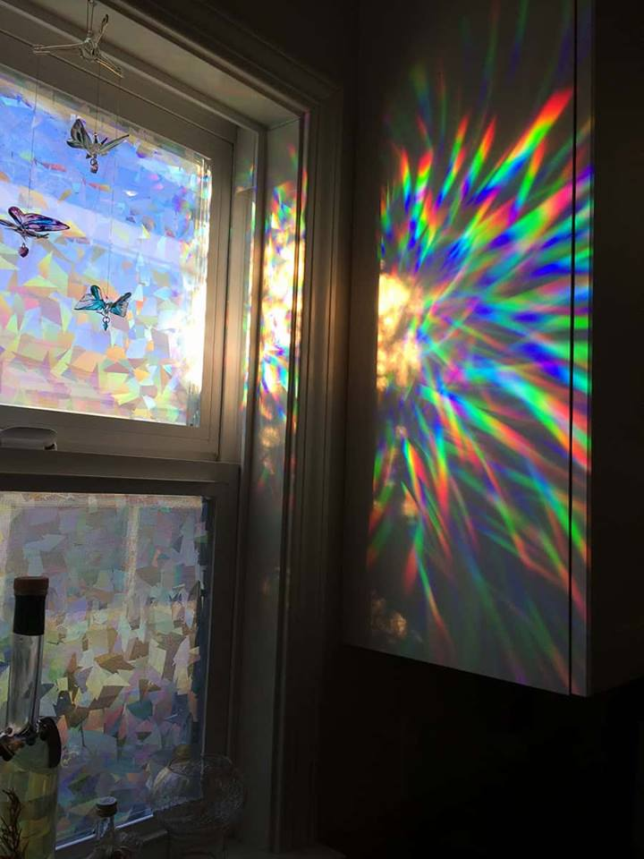 Window with prism.