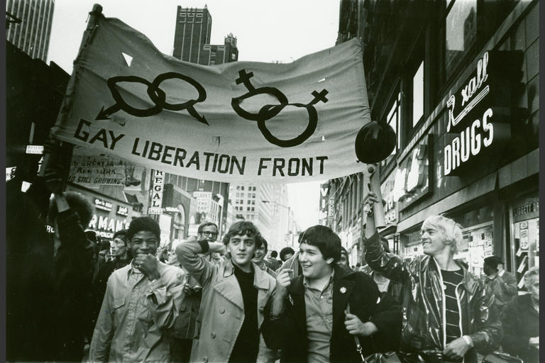 Stonewall March 1972 (  Image Source  )