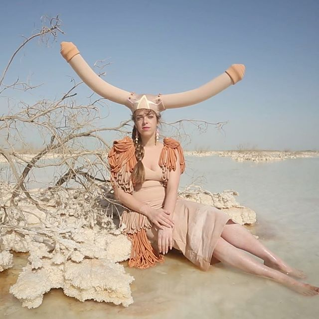 A little dip in a salty salty soup. #deadsea From a project with a very special magician @tal.porat shot by @shimkyn