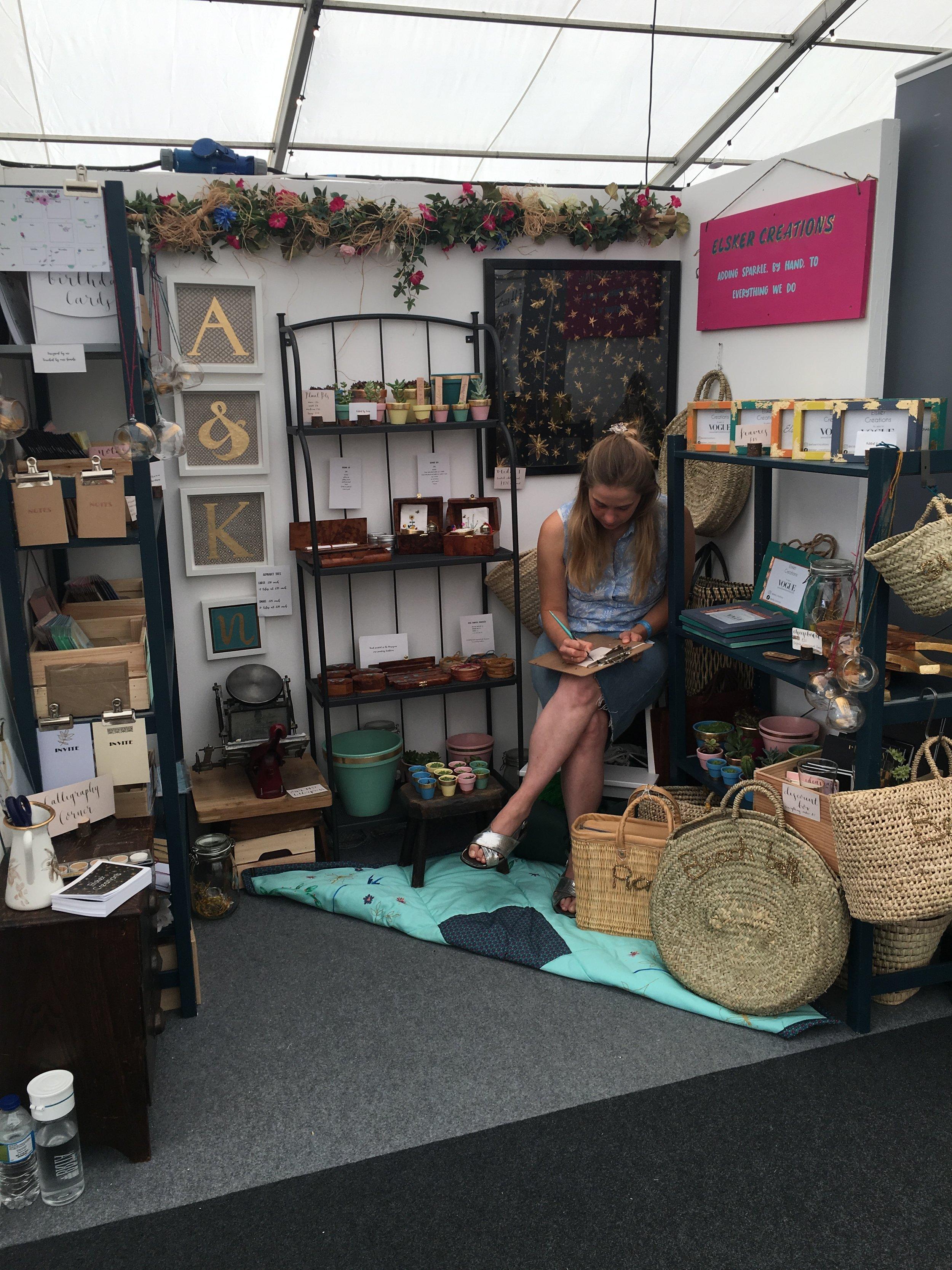 The Handmade Fair - Bowood June 2018 -