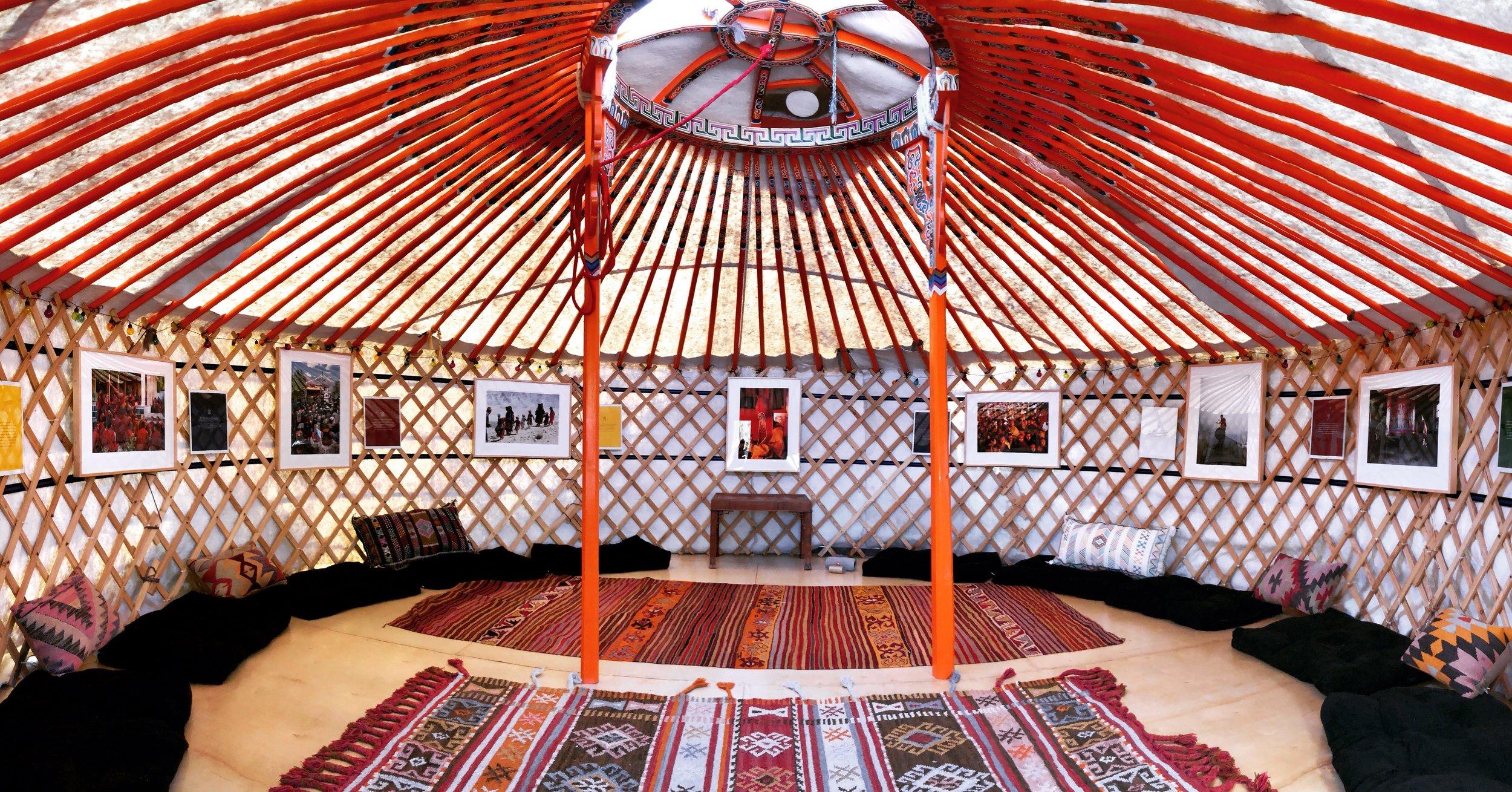 Yangchenma Art Yurt Interior