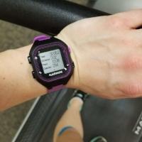 Garmin Forerunner 25 treadmill
