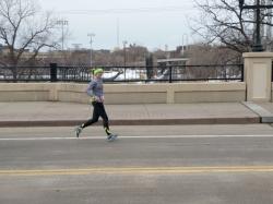 Hot Dash 10 Mile Finish