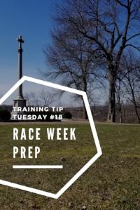 Training Tips Tuesday Race Week Prep Pinterest.jpg