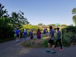 Stillwater Half Marathon Race Start