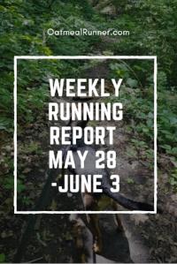 Weekly Running Report May 28 - June 3 Pinterest.jpg