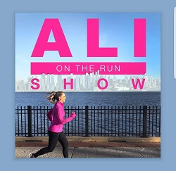 Ali on the Run podcast