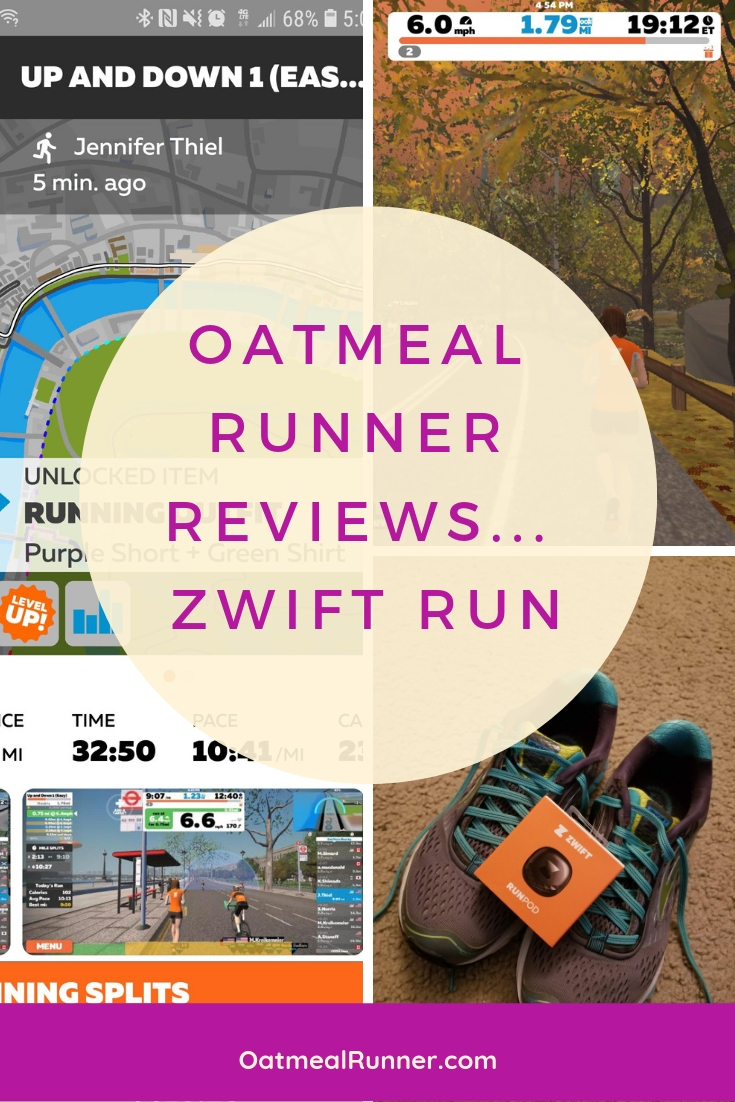 Oatmeal Runner Reviews... Zwift Run Pinterest 2.jpg