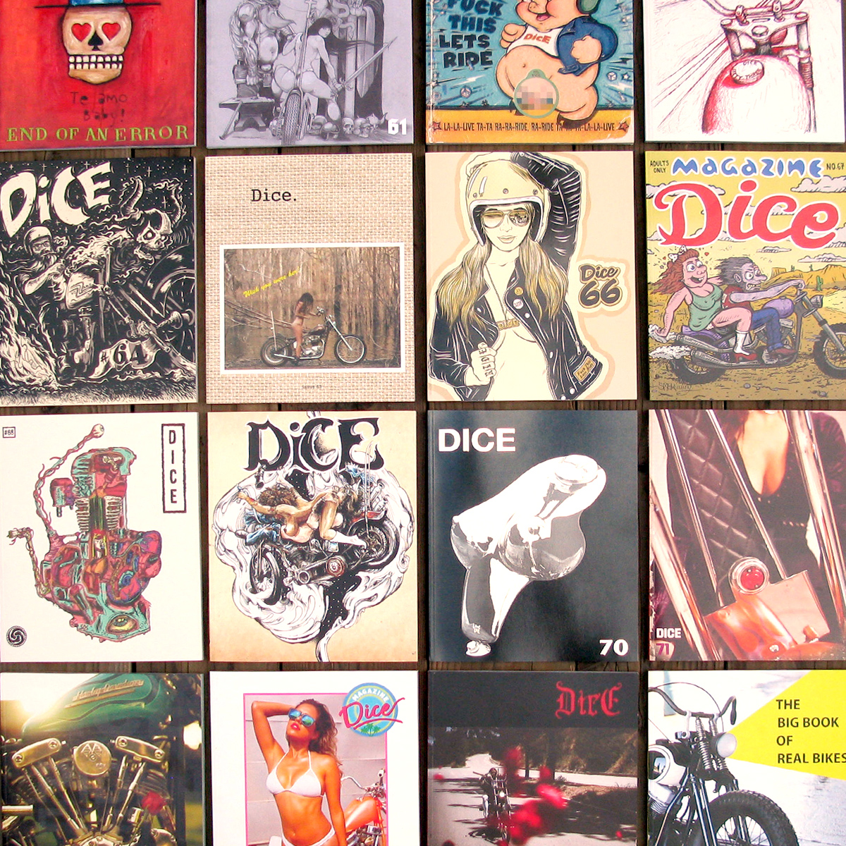 DicE One Year Subscription  Don't miss out on anything for the next year!