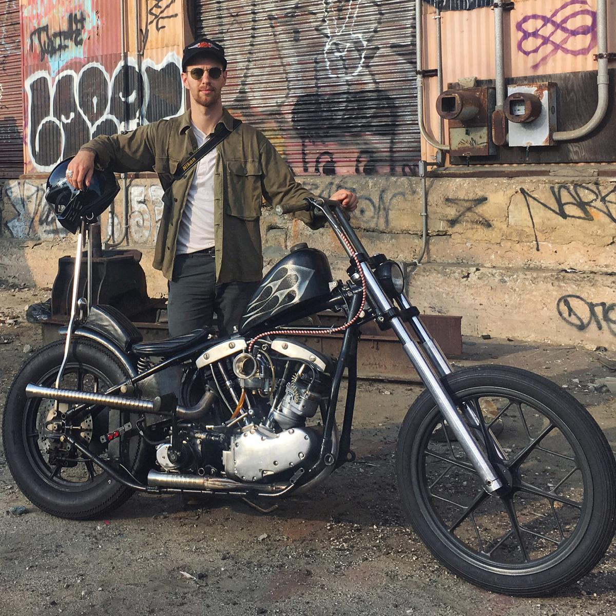 Ben Hittle 1969 Harley Shovelhead / 1991 Harley Sportster Cameras: Nikon D7200 / Fuji Instax 300