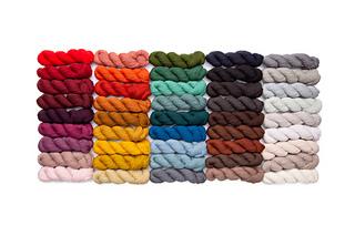 Work with Brooklyn Tweed Peerie and Arbor yarns