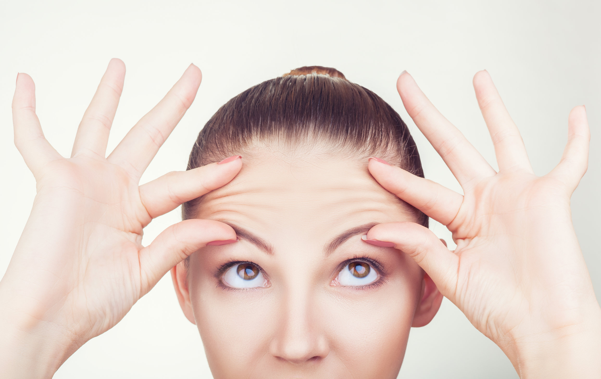 Forhead wrinkles -