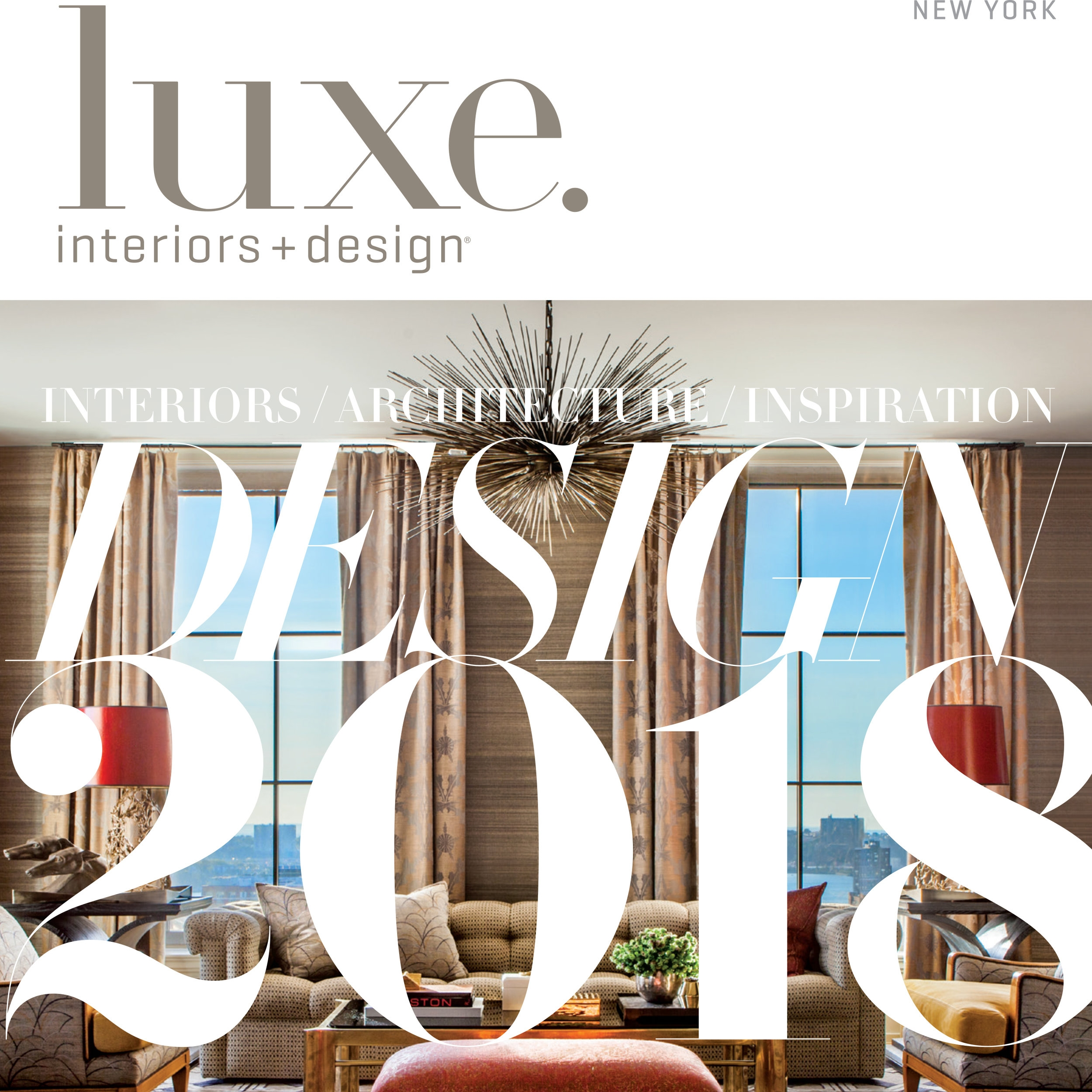 LUXE INTERIORS + DESIGN, January 2018