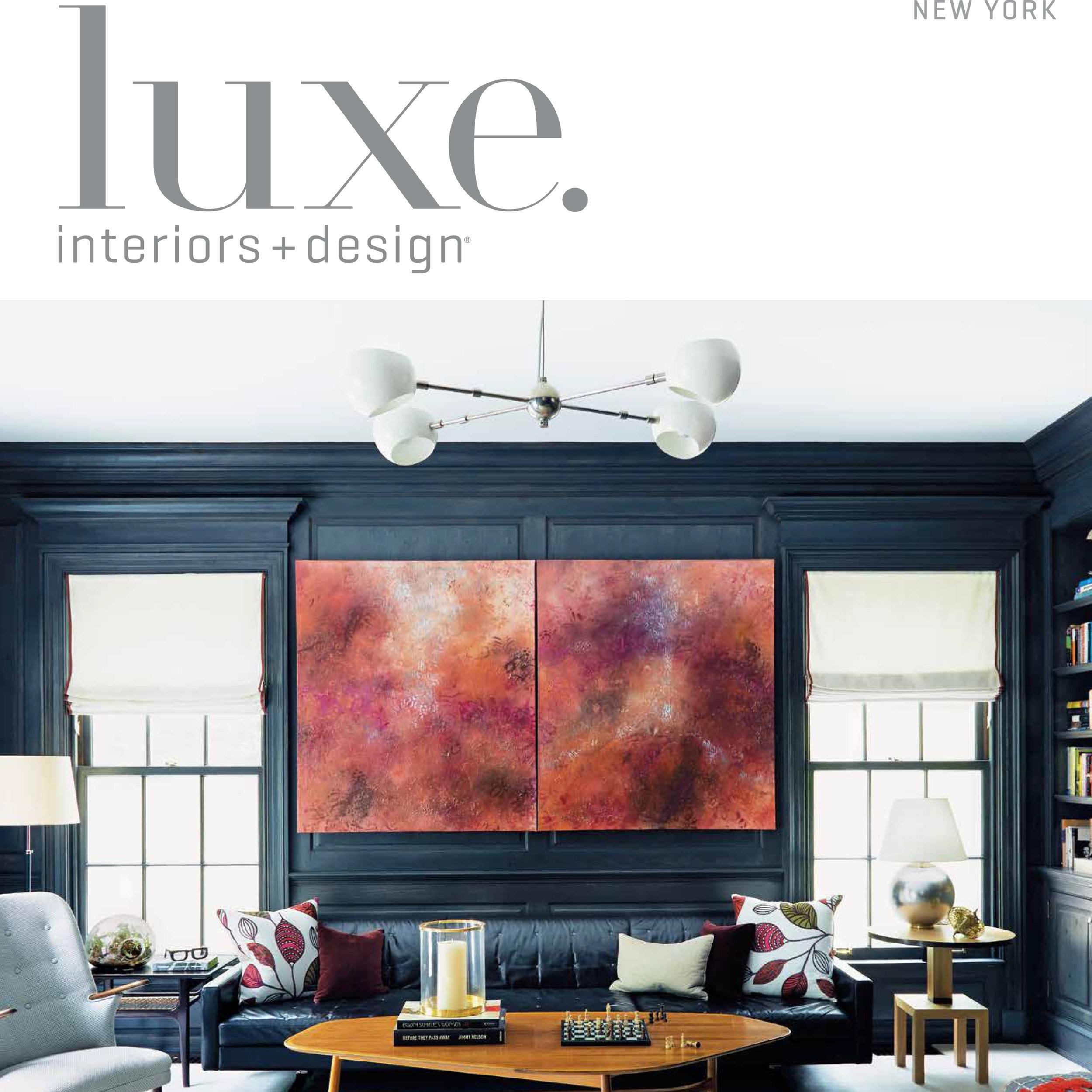 LUXE INTERIORS + DESIGN, November 2017