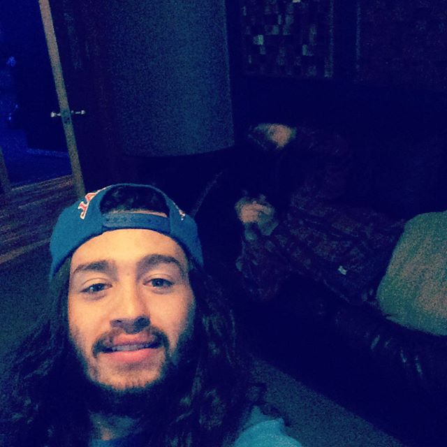 'Case On The Couch' #kickinit #studio #makinmusic #artistsoninstagram #taylorguitars #album #caseonthecouch