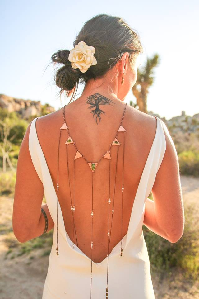 Wedding Backdrop Necklace