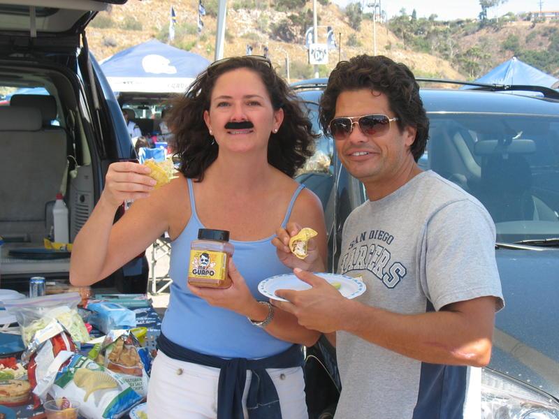 Mas Guapo Fish Tacos at the tailgate? Dyn-O-Mite!