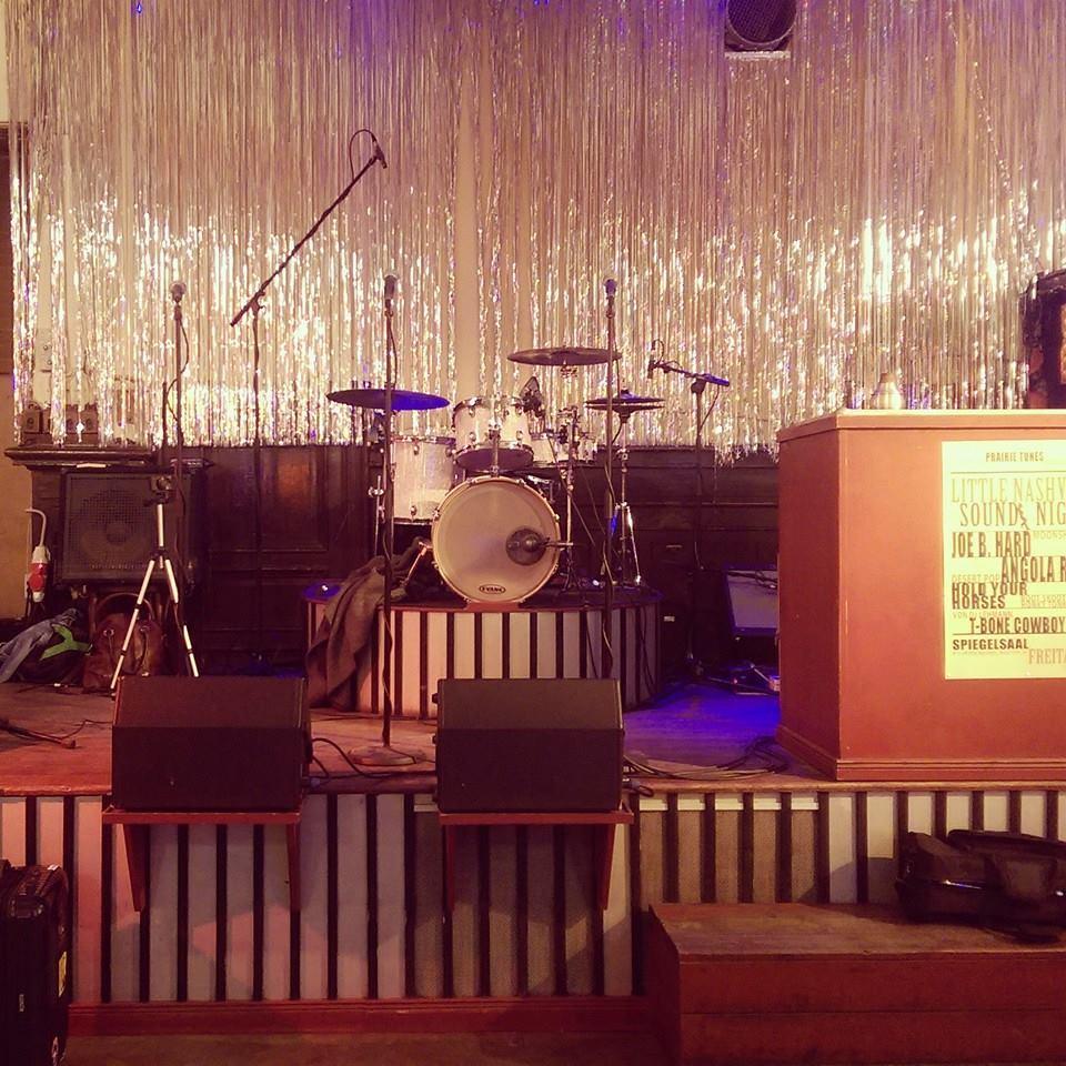 Soundcheck @Clärchens Ballhaus, Berlin