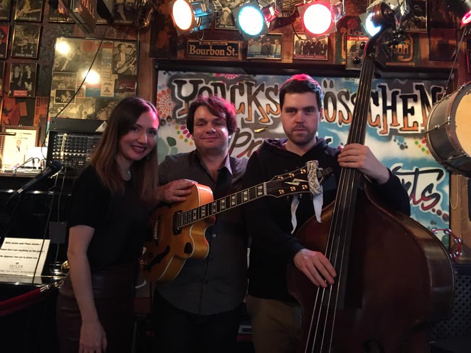 With Jazz Trio @Yorckschlösschen, Berlin