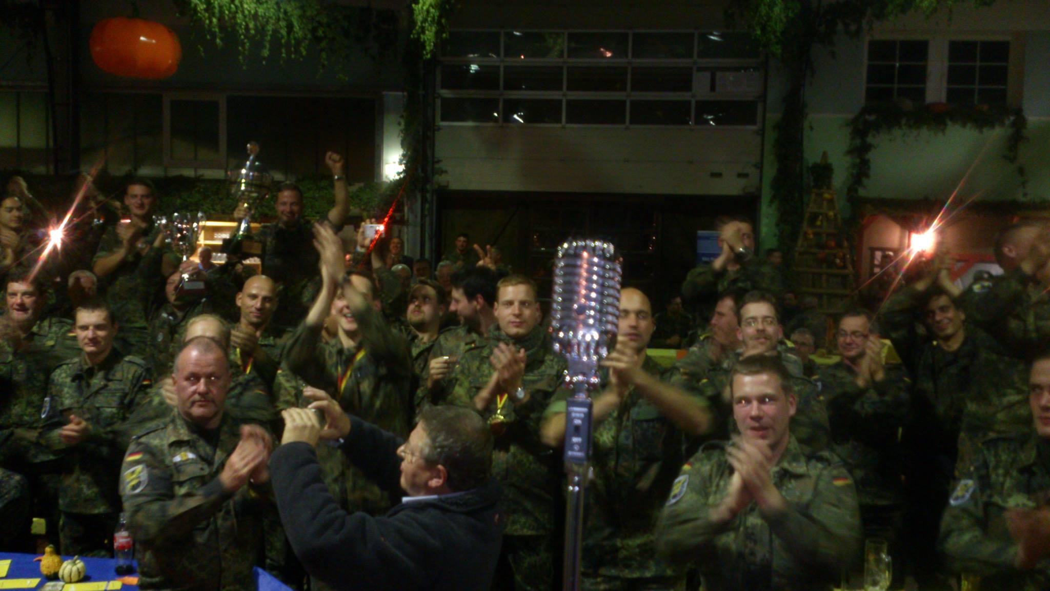 Gig @Reservistenmeisterschaft, Deutsche Bundeswehr