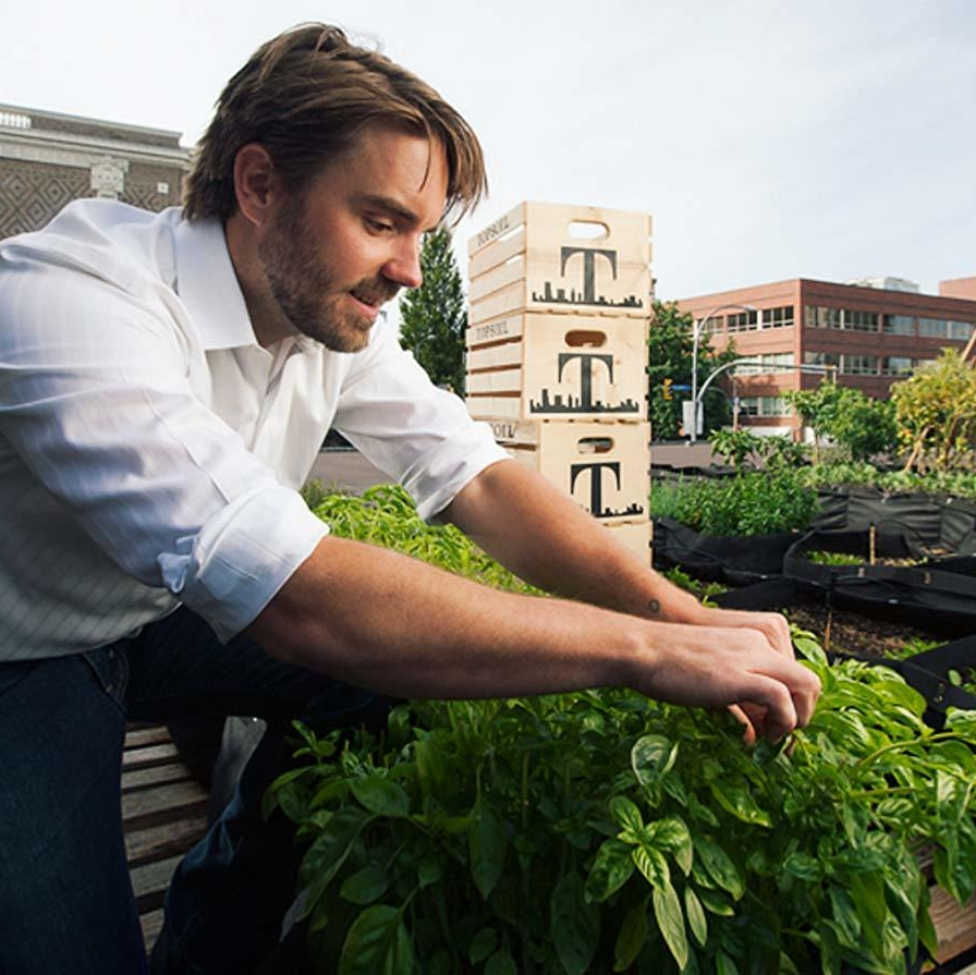 Innovative Urban Agriculture from Victoria BC - Chris Hildreth, Founder of TOPSOIL