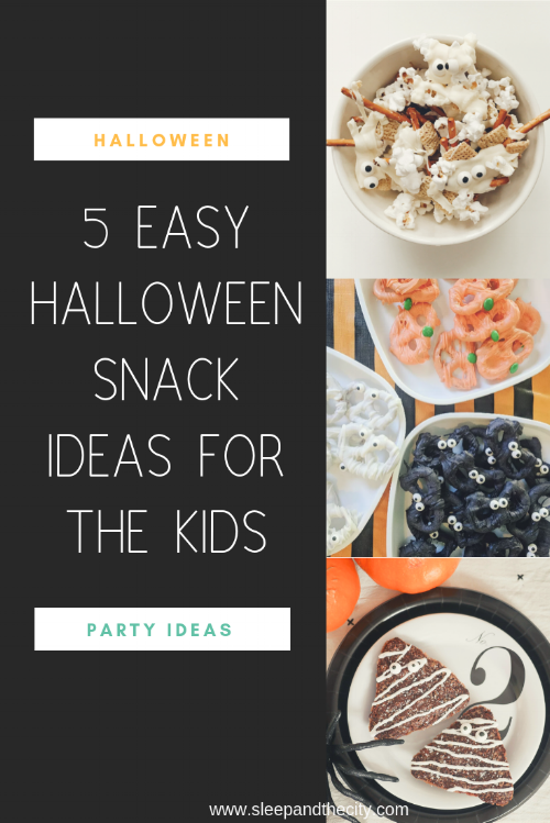 5 Easy Halloween Snack Ideas for Kids