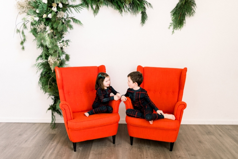 Our favorite  modern plaid matching pajamas  (all sizes up to adults!)