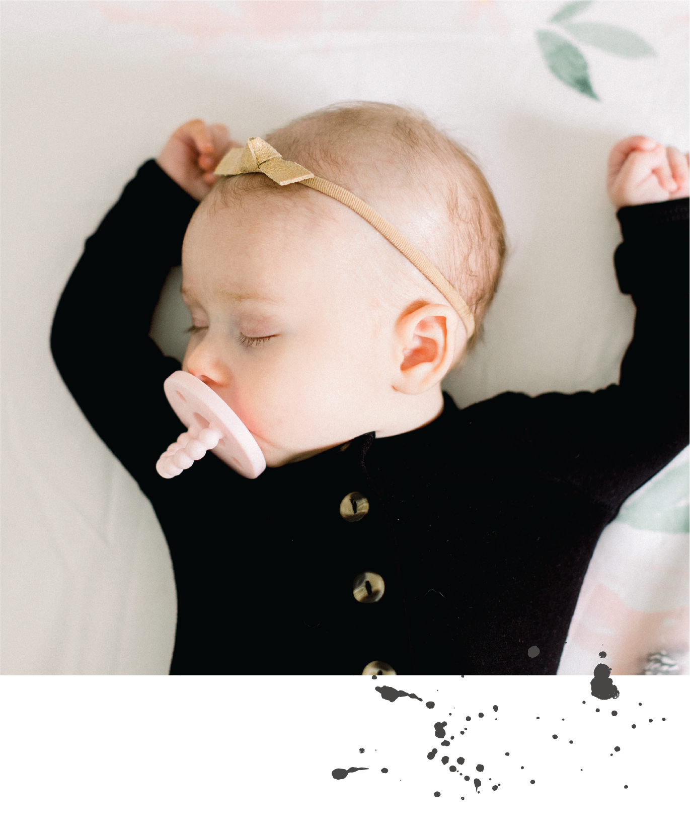 Imagine a sleep method that… - allows co-sleeping and bed sharing (no shaming here)is completely customizablerequires only 90% commitment (because #momlife needs flexibility)results in a baby no longer sleep-deprived, but also HAPPIER, and easier to parent...because getting your baby to sleep should help you live life, it shouldn't BECOME your life.