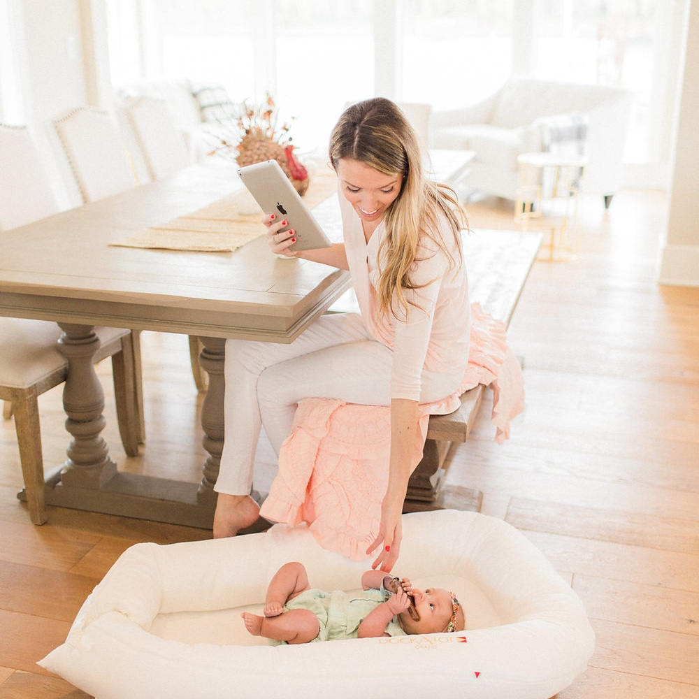 A Safe Sleeping Area - We love the Dock-a-Tot! Available in sizes 0-36 months, this is an excellent way to help children feel safe, secure, and transition into a toddler bed! Also great for travel! Click here to purchase your DockaTot, winner of The Bump's