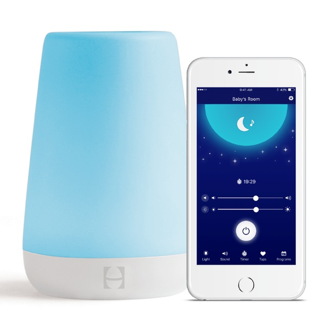 White Noise - A good white noise machine can block out unwanted disturbances such as a dog barking or garage truck. Our favorite one found here is top rated among Mothers, easy to travel with, and doubles as an