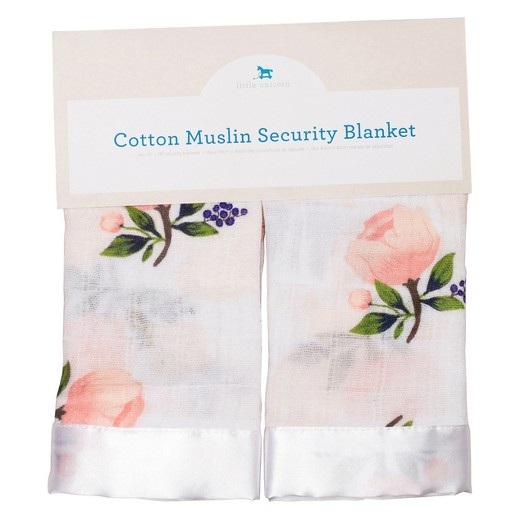 Security Blankie / Lovey - We recommend a small, breathable item such as these adorable loveys with a silk trim to help build your child's confidence while simultaneously combating any separation anxiety when learning to sleep independently.