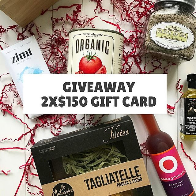 💥💥2X$150 GIFT CARD GIVEAWAY💥💥 It's beginning to look a lot like Christmas... If you're having a hard time finding the perfect gift...why not give the gift of food...because who wouldn't love that? I've partnered with @farmtotablemarket #Yaletown to give 2 lucky followers a chance to win a $150.00 gift card. At #FarmToTableMarket you'll find a great selection of local artisan products as well as imported goods; such as: Black Truffle Oil, Italian pastas, and hard to find cheese all the way from France.  Or you can pick up one of their pre-made gift baskets to make your holiday shopping even easier!  To Enter: 💥Like this photo. 💥Follow @farmtotablemarket AND @foodiegramca. 💥Tag a friend (unlimited entries but one tag per comment). 💥Contest close - Dec 11th, Tuesday, 11:59pm PST. 💥Valid at Yaletown location only. •Winner will be contacted by DM. *****GOOD LUCK!******* #giveaway #contest. • • • • • #foodiegram #vancouverfood #vancouvereats #yvrfoodie #yvrfood #vancityfood #604eats #yvreats #narcityvancouver #eatcouver #vancouverfoodie #vancitylife #curiocityvan #foodcouver #vancityeats  #igvancouver #foodblogger #vanfoodie #vancitybuzz #dishedvan #dhvanfood #foodporn