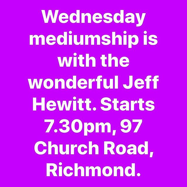 #psychicmedium #psychicreadings #rsc #spiritualistmedium #richmondspiritualistchurch #