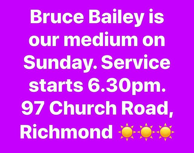 #psychicmedium #psychicreadings #rsc #spiritualistmedium #richmondspiritualistchurch 💜🙏💜