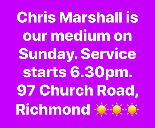 #richmondspiritualistchurch #psychicmedium #psychicreadings #rsc 💕💕💕💕💕
