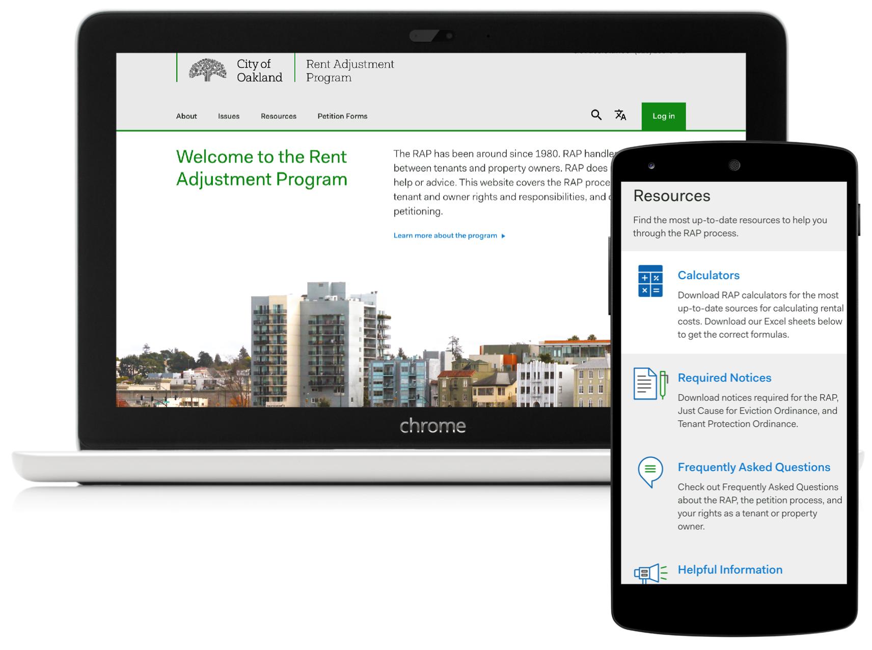 Rent Adjustment Program - Simplifying conversations between Oakland's property owners and renters