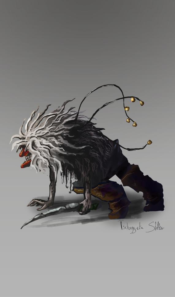 Concept of a Tschäggätä stalker