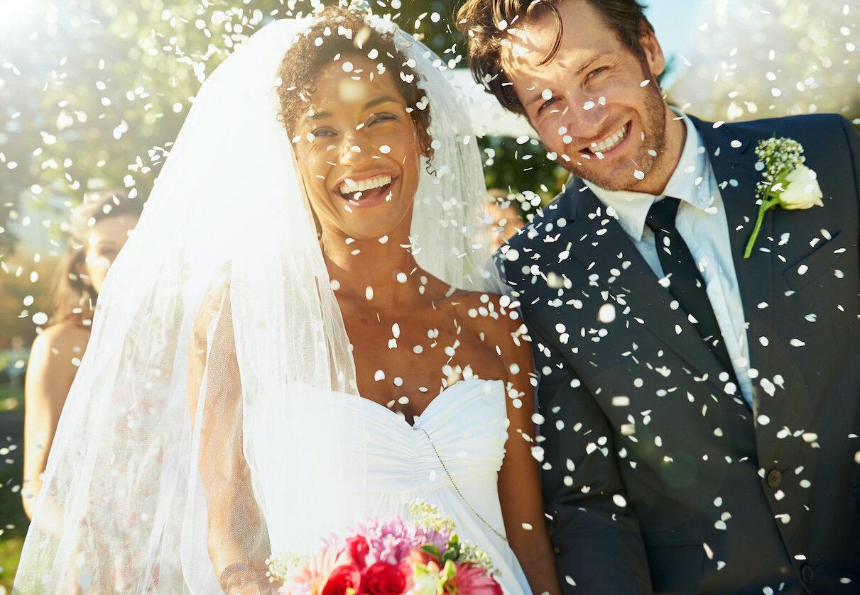 bride and groom smiling wedding day.jpg
