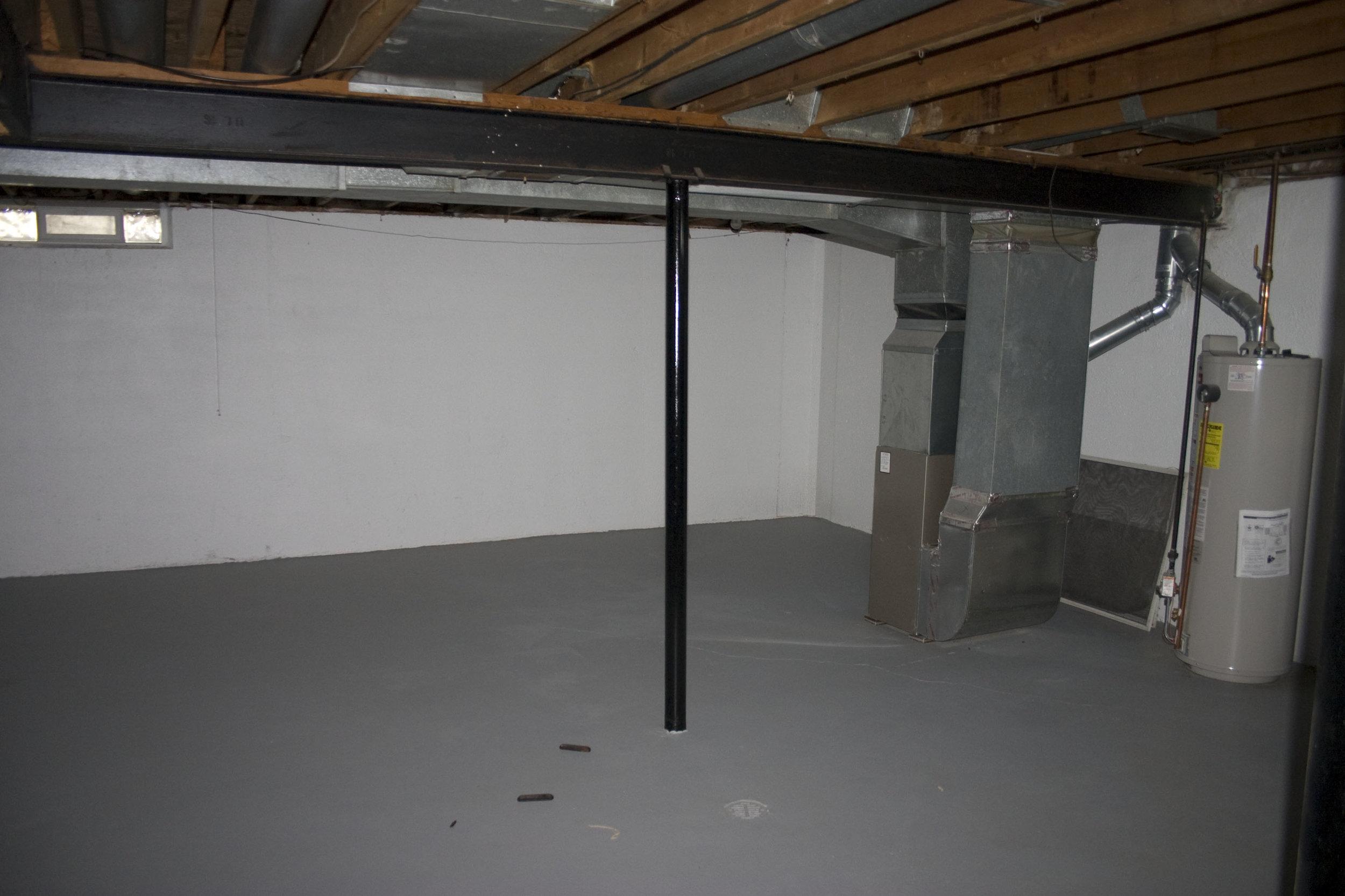 2-bedroom basement