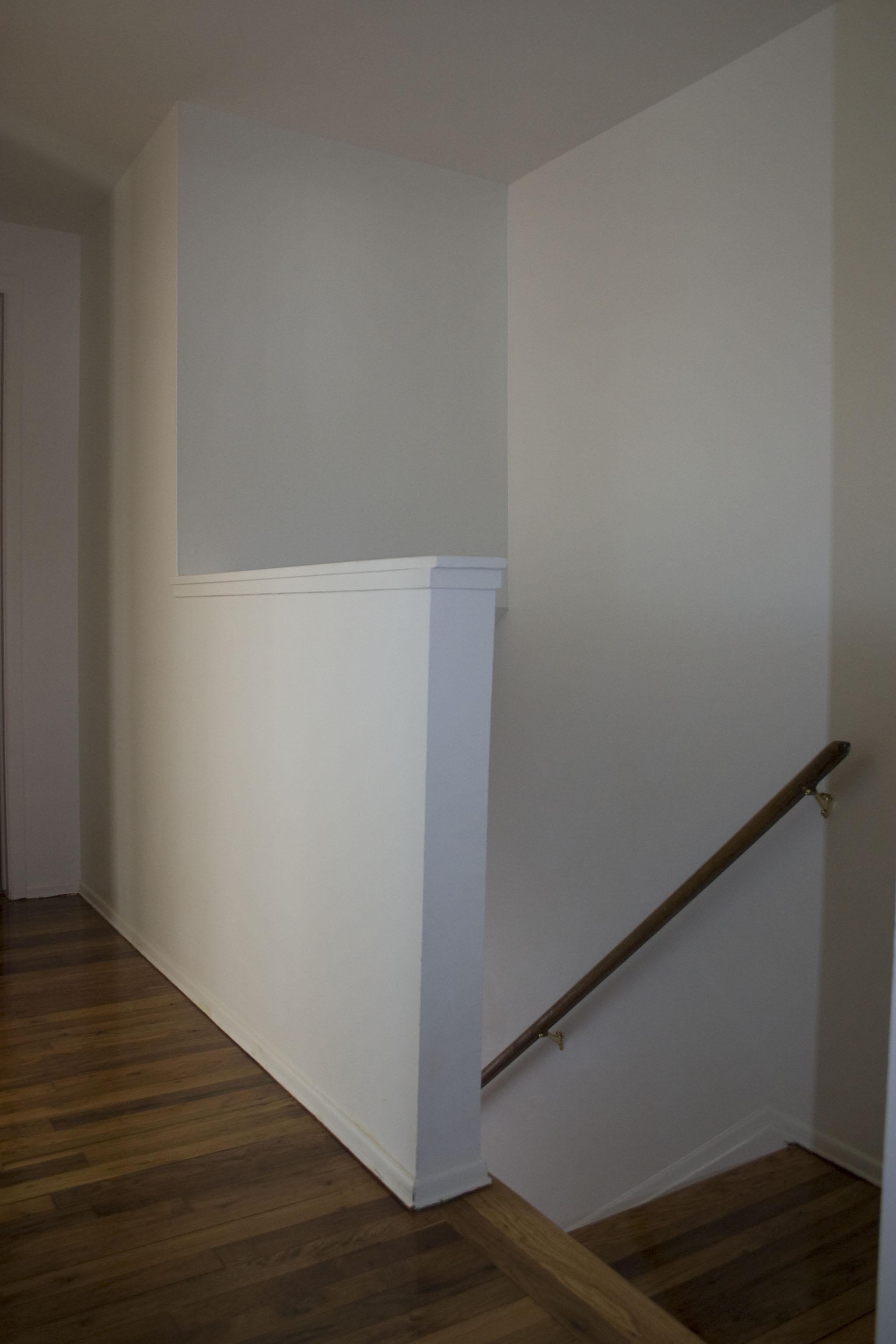 2-bedroom upstairs hallway