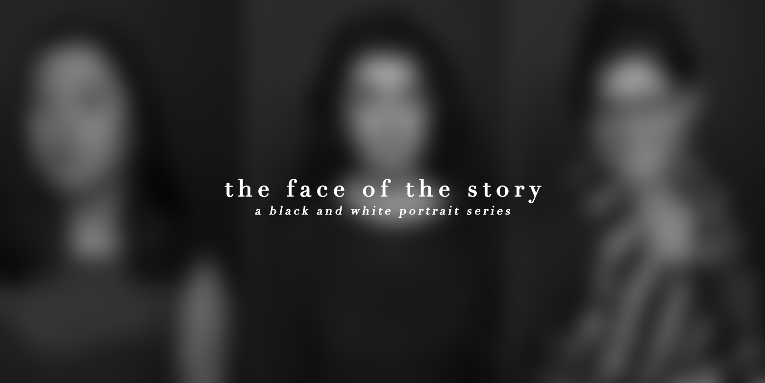 the face of the story portrait photography project
