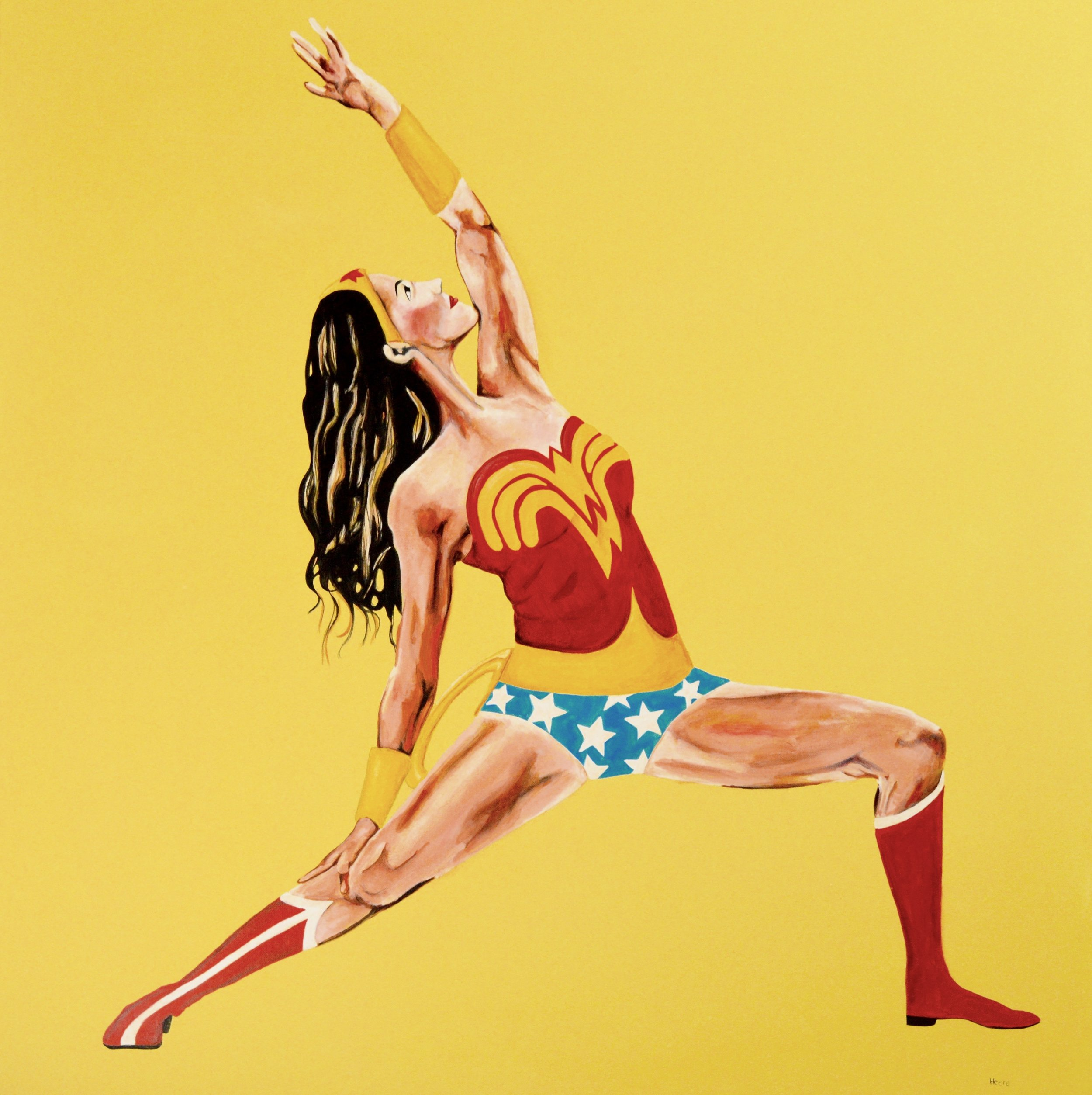 Heere, Nicole - Wonder Woman Yogi in Yellow.jpg