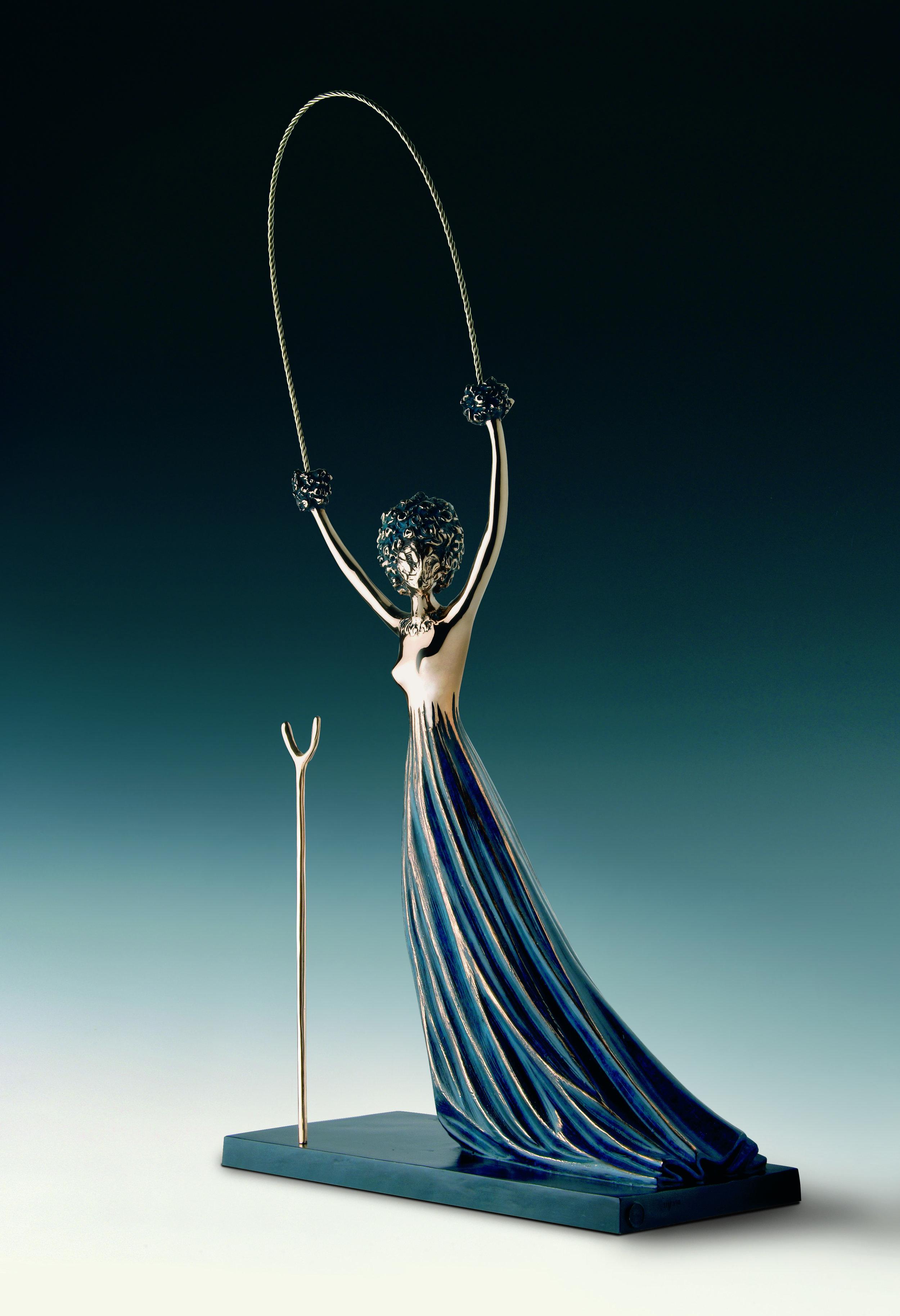 """Alice In Wonderland Sculpture"" by Salvador Dali © I.A.R Art Resources"