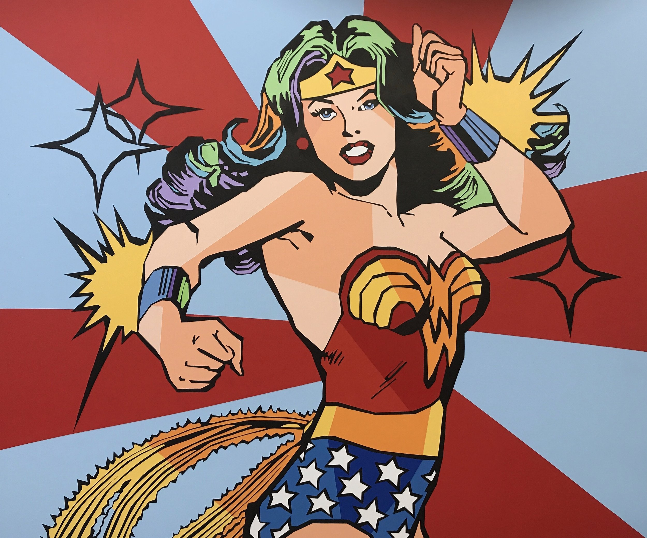 """Fem-Power"" by Elizabeth Sutton. Available for purchase with Marcel Katz Art."